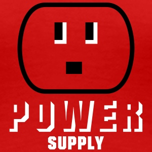 power supply (2c) Women's T-Shirts - Women's Premium T-Shirt
