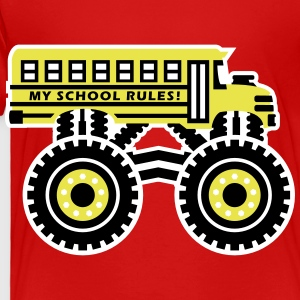 The Monsterous School Bus Baby & Toddler Shirts - Toddler Premium T-Shirt