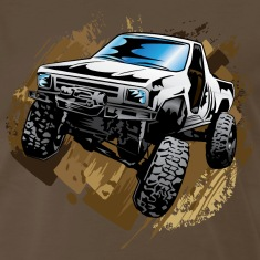 White Muddy Truck T-Shirts