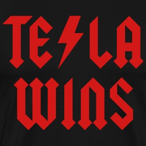 Tesla Wins - Men's Premium T-Shirt