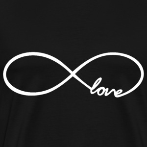 Infinity Love Design T-Shirts - Men's Premium T-Shirt