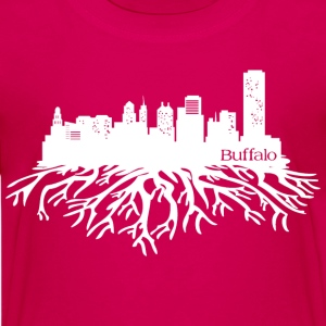 Buffalo New York Skyline  Kids' Shirts - Kids' Premium T-Shirt