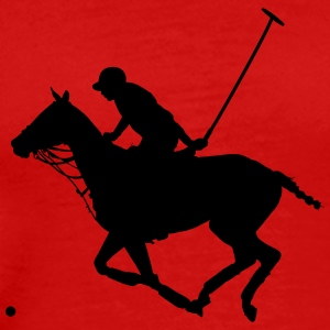 Polo Pony Silhouette - Men's Premium T-Shirt