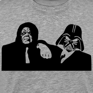 blues brothers (darth vader and darth sidious) T-Shirts - Men's Premium T-Shirt
