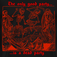 Design ~ Dead Party (Red) - Heavy Weight Men's Shirt