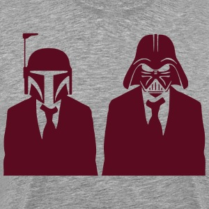 vader & fett in suits 1.2_ T-Shirts - Men's Premium T-Shirt