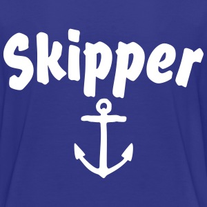 Skipper T-Shirt (Blue/Back) Kids - Kids' Premium T-Shirt