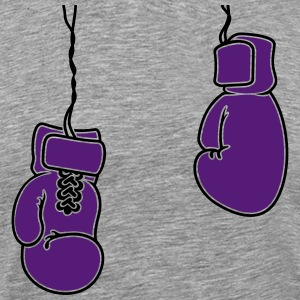 boxing gloves (2c) T-Shirts - Men's Premium T-Shirt
