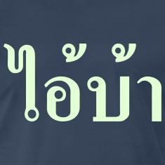 I'M CRAZY! ~ AI! BA in Thai Isan Language T-Shirts