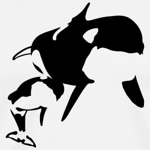 killer whale T-Shirts - Men's Premium T-Shirt