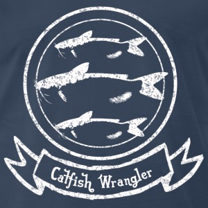 Catfish Wrangler T-Shirts - Men's Premium T-Shirt