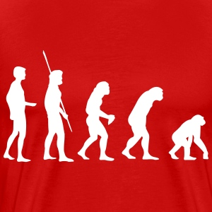 Evolution Reverse  - Men's Premium T-Shirt
