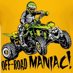 Off-Road Quad Maniac Kids' Shirts