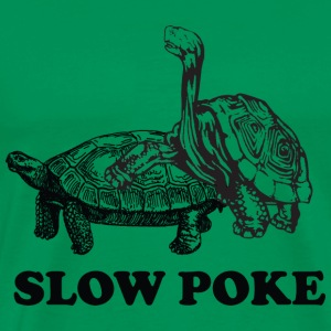 Slow Poke Turtles T-Shirts - Men's Premium T-Shirt