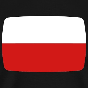 Poland flag Poland Polska Polish flag  T-Shirts - Men's Premium T-Shirt