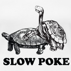 Slow Poke Turtles Women's T-Shirts