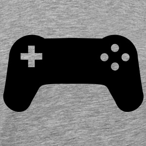 Controller console gamer player T-Shirts - Men's Premium T-Shirt