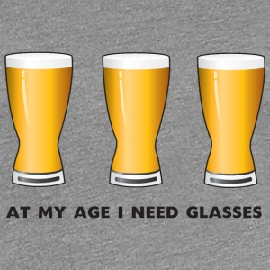 Beer. At my age I need glasses Women's T-Shirts - Women's Premium T-Shirt