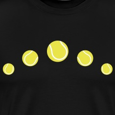 tennis balls tennis ball  T-Shirts