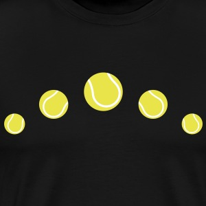 tennis balls tennis ball  T-Shirts - Men's Premium T-Shirt