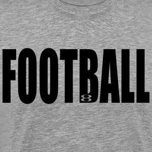 Football 8Brand Approved Grey T-Shirt - Men's Premium T-Shirt