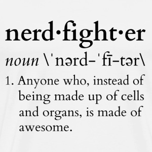 Nerdfighter Definition T-Shirts - Men's Premium T-Shirt