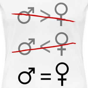Gender Equality. It's Simple. Women's T-Shirts - Women's Premium T-Shirt