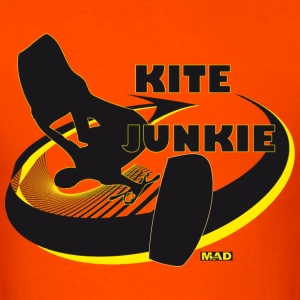Kite Junkie by MADline - Men's T-Shirt