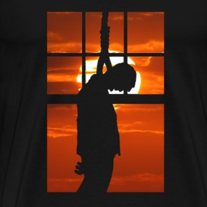 Hang Man - Hanged at sunset T-Shirts - Men's Premium T-Shirt