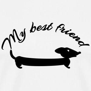 My best friend (1c) T-Shirts - Men's Premium T-Shirt