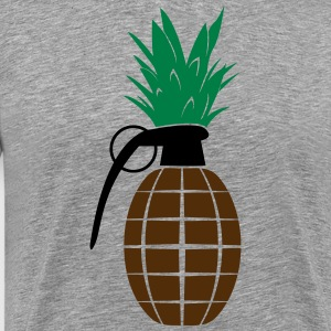Pineapple Grenade - Men's Premium T-Shirt