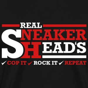 Real Sneakerheads Routine T-Shirts - Men's Premium T-Shirt