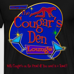 The Cougars Den - Men's Premium T-Shirt