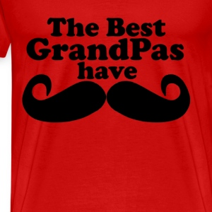 best_grandpas_have_mustaches_tshirt_i - Men's Premium T-Shirt