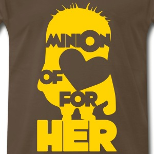minion of love (boys) T-Shirts - Men's Premium T-Shirt