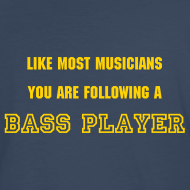 Design ~ Following a Bass Player