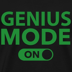 Genius Mode On - Men's Premium T-Shirt