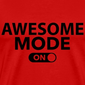 Awesome Mode On - Men's Premium T-Shirt