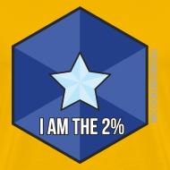 Design ~ I Am the 2% - Men's Yellow
