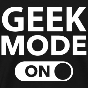 Geek Mode On - Men's Premium T-Shirt