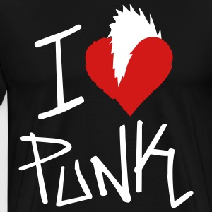 I Love Punk - Men's Premium T-Shirt