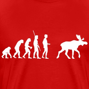 Evolution moose Shirt - Men's Premium T-Shirt