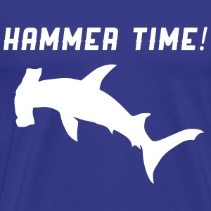 Sharks. Hammer Time T-Shirts - Men's Premium T-Shirt