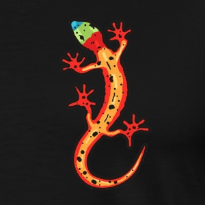 gecko_multi-coloured T-Shirts - Men's Premium T-Shirt