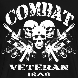 Combat Veteran (Iraq) - Men's Premium T-Shirt