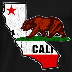 California Bear Flag (Distressed)