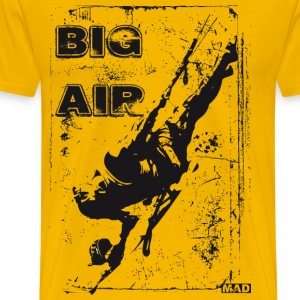 Big Air Kitesurfing  - Men's Premium T-Shirt