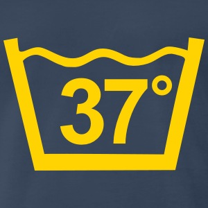 Wash at 37 degree  - Men's Premium T-Shirt