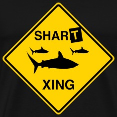 Shart Crossing T-Shirts