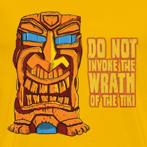 Tiki Trouble [heavy weight] - Men's Premium T-Shirt
